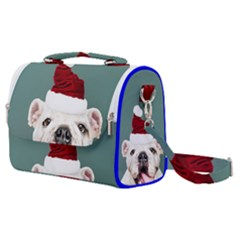 Santa Dog Satchel Shoulder Bag