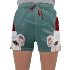 Santa Dog Sleepwear Shorts