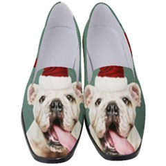Santa Dog Women s Classic Loafer Heels