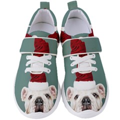Santa Dog Women s Velcro Strap Shoes