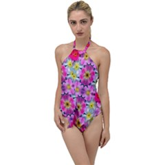Ab 107 Go With The Flow One Piece Swimsuit by ArtworkByPatrick