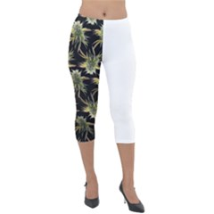 Nuggs Lightweight Velour Capri Leggings  by Lizzardfashion