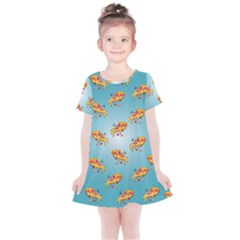 Pizza Love Kids  Simple Cotton Dress