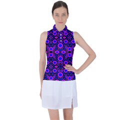 Ab 117 Women's Sleeveless Polo Tee