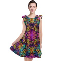 Ab 118 Tie Up Tunic Dress