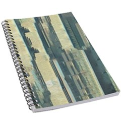 Texture Abstract Buildings 5 5  X 8 5  Notebook by Alisyart