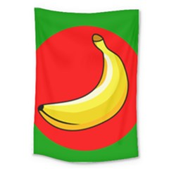 Banana Republic Flags Yellow Red Large Tapestry