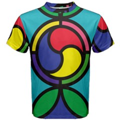 Colors Patterns Scales Geometry Men s Cotton Tee