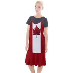 Canada Flag Dresses Camis Fishtail Dress