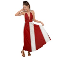Canada Flag Dresses Backless Maxi Beach Dress by CanadaSouvenirs