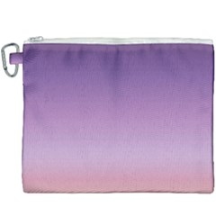 Sunset Evening Shades Canvas Cosmetic Bag (xxxl)