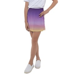 Sunset Evening Shades Kids  Tennis Skirt