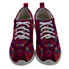 Circle Pattern Women Athletic Shoes by designsbymallika