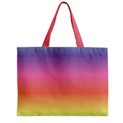 Rainbow Shades Zipper Mini Tote Bag by designsbymallika