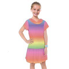 Rainbow Shades Kids  Drop Waist Dress