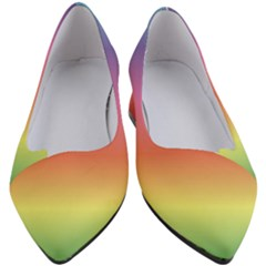 Rainbow Shades Women s Block Heels