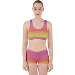 Rainbow Shades Work It Out Gym Set by designsbymallika