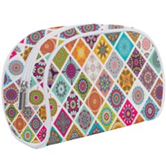 Ethnic Mandala Pattern Makeup Case (large)