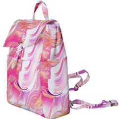 Pink Paint Brush Buckle Everyday Backpack