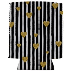 Stripes Heart Pattern Can Holder
