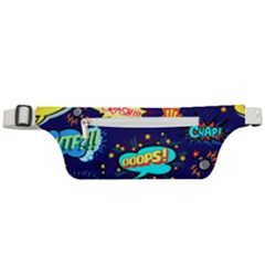 Bada Boom Pattern Active Waist Bag