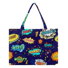 Bada Boom Pattern Medium Tote Bag