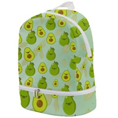 Avocado Love Zip Bottom Backpack