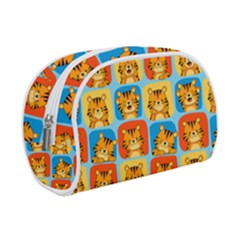 Cute Tiger Pattern Makeup Case (small)