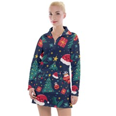 Christmas  Women s Long Sleeve Casual Dress