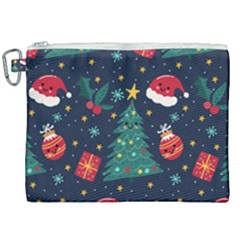 Christmas  Canvas Cosmetic Bag (xxl)