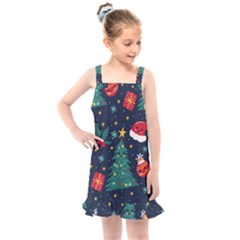Christmas  Kids  Overall Dress