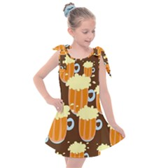 Drink Kids  Tie Up Tunic Dress