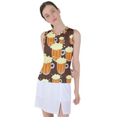 Drink Women s Sleeveless Sports Top by HermanTelo