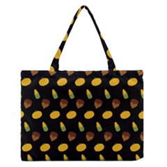 Pumpkin Zipper Medium Tote Bag by designsbymallika