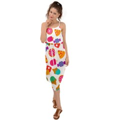 Candies Are Love Waist Tie Cover Up Chiffon Dress