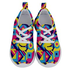Doodle Pattern Running Shoes by designsbymallika