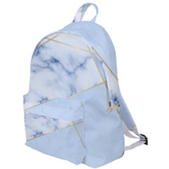 Blue Marble Print The Plain Backpack