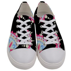 Madala Pattern Women s Low Top Canvas Sneakers