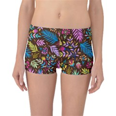 Tropical Print  Boyleg Bikini Bottoms by designsbymallika