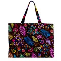 Tropical Print  Medium Tote Bag by designsbymallika