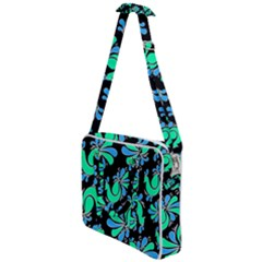 Peacock Pattern Cross Body Office Bag