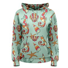 Coral Love Women s Pullover Hoodie