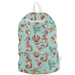 Coral Love Foldable Lightweight Backpack