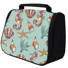 Coral Love Full Print Travel Pouch (big)