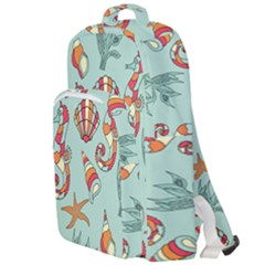 Coral Love Double Compartment Backpack