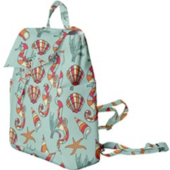 Coral Love Buckle Everyday Backpack