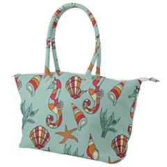 Coral Love Canvas Shoulder Bag