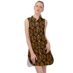 Rby 99 Sleeveless Shirt Dress