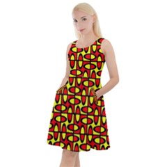 Rb 100 Knee Length Skater Dress With Pockets