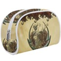Wonderful Deer With Leaves And Hearts Makeup Case (Large) View1